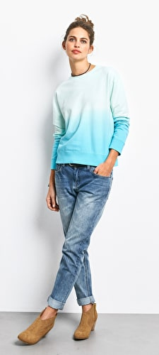 Ombre Sweat Top