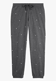 Embroidered Heart Joggers