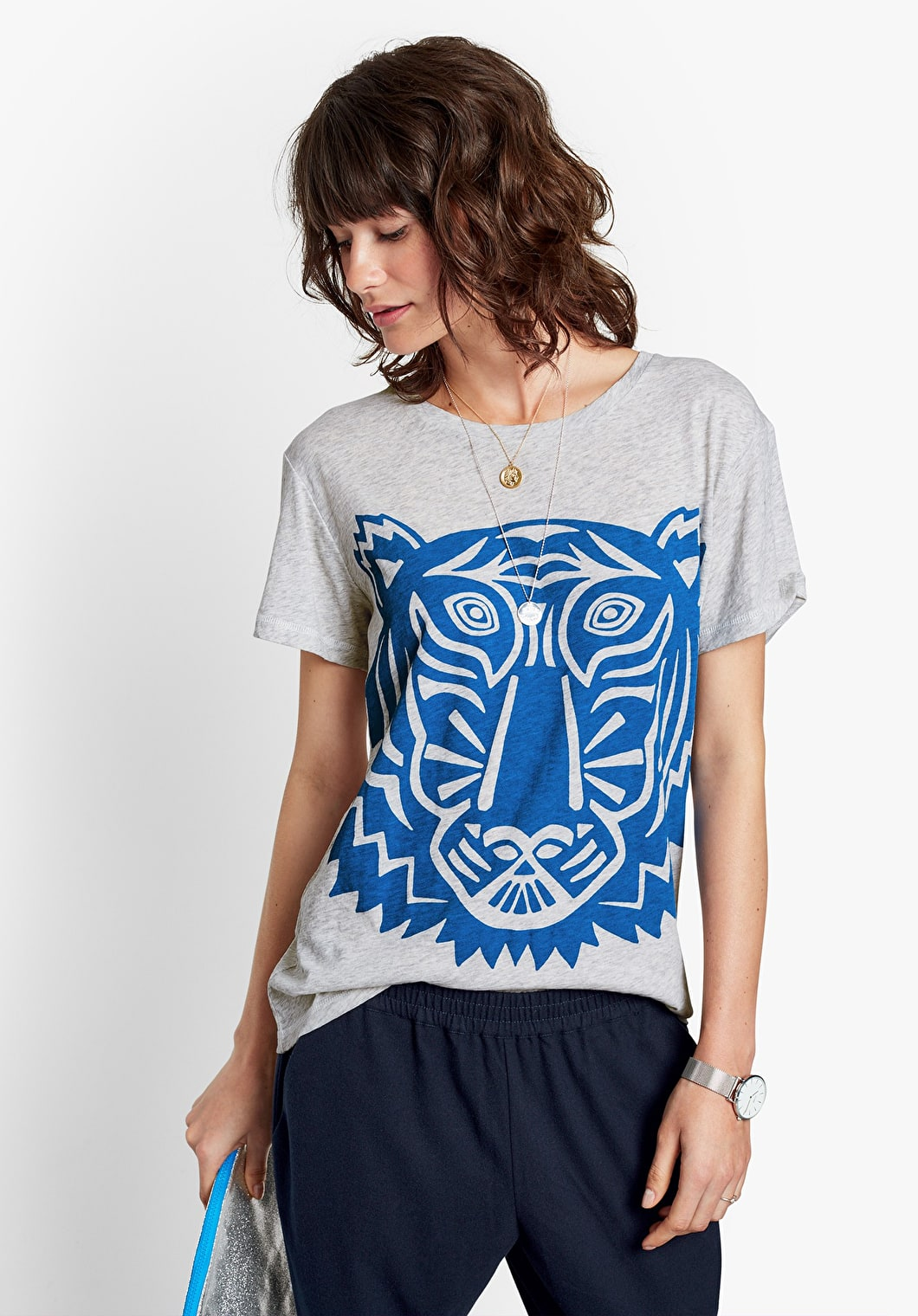 Tiger Face Tee | hush