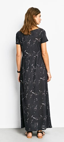 Marble Jersey Dress