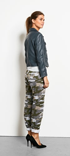 Printed Camo Joggers