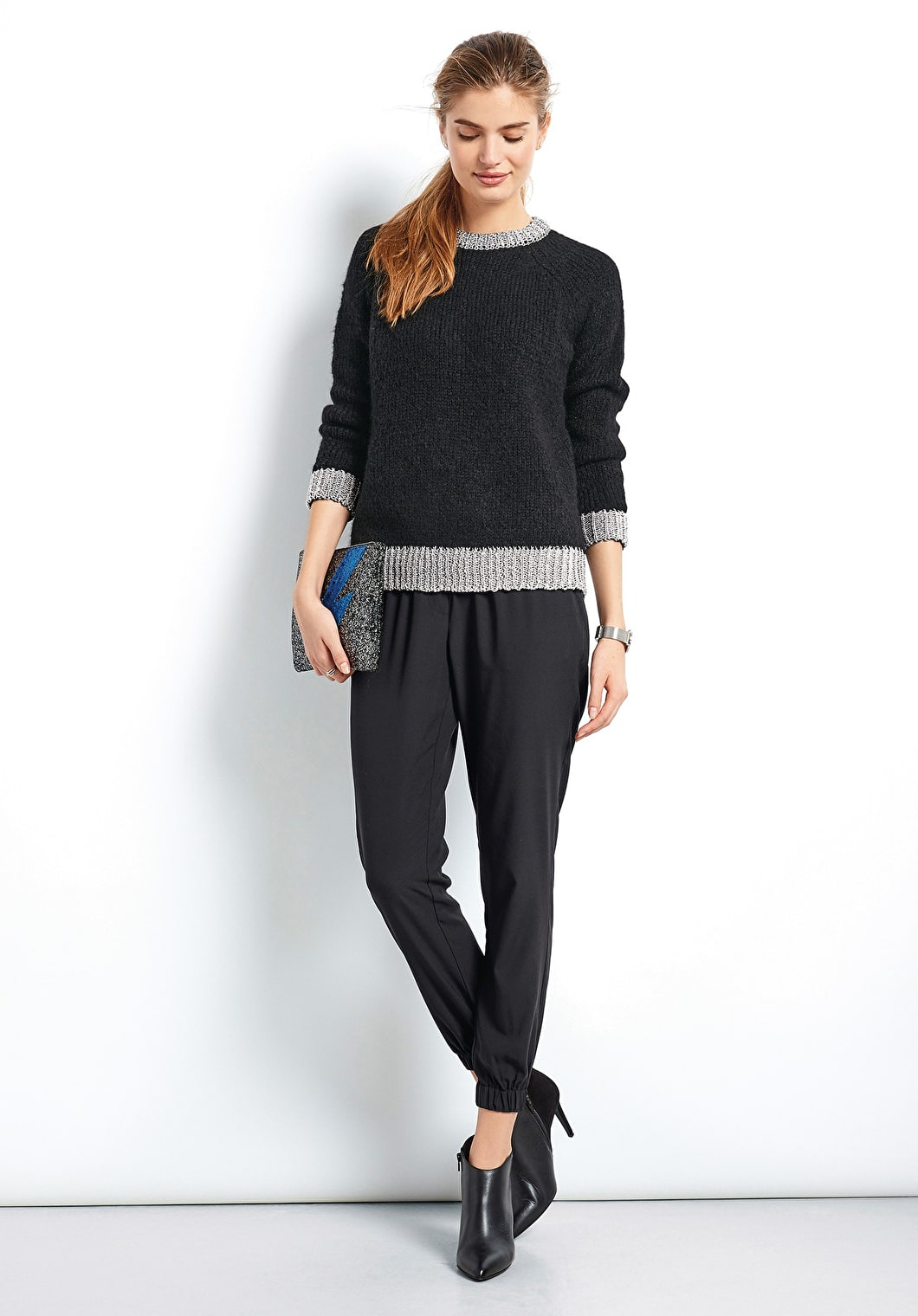 Lurex Metallic Knit | hush