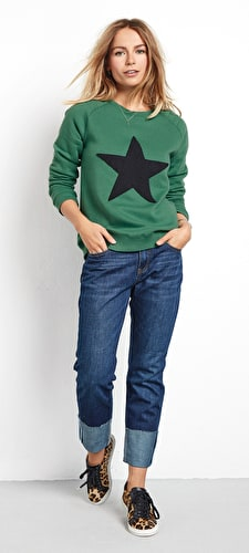 Star Biker Sweat
