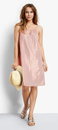 Caro Metallic Dress