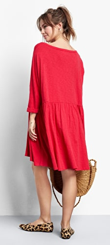 Oversized Babydoll Dress