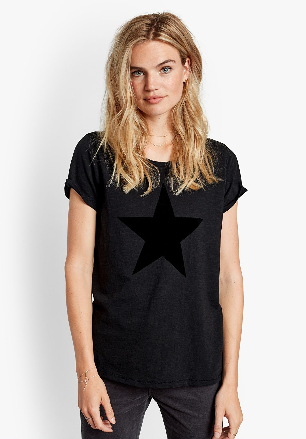 Flock Star Print Tee | hush