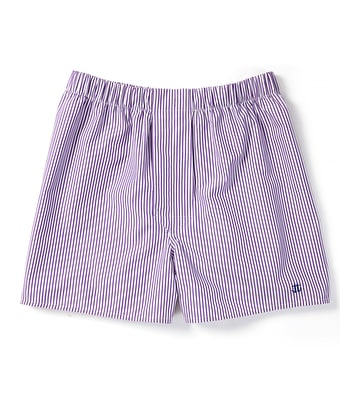 Boxer Shorts - Purple Bengal Stripe
