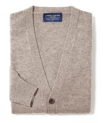 Lambswool - Cardigan - Cobble