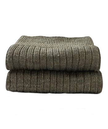 Classic Wool Socks - Half Hose - Green