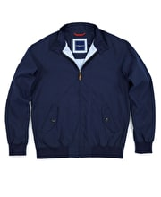Harrington Coat - Navy