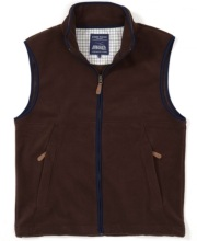 Coverdale Fleece Gilet - Brown
