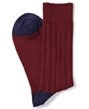 Heel & Toe Cotton Socks