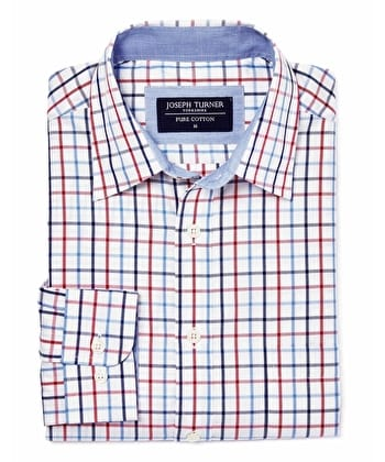 York Shirt - Red/Blue