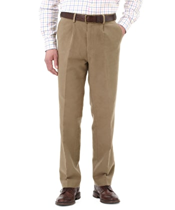 Moleskin Trousers - Taupe