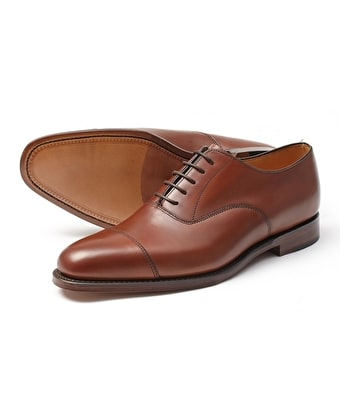 Aldwych Oxford Shoe - Mahogany