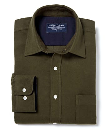 Moleskin Shirt - Green