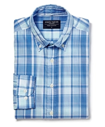 Madras Check - Blue/Aqua
