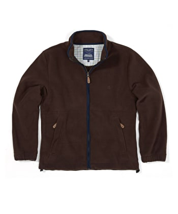 Coverdale Fleece Jacket - Brown