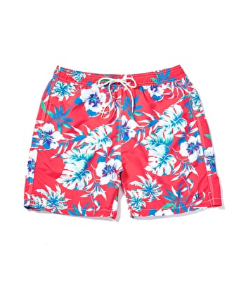 Swimming Trunks - Tropical Flowers