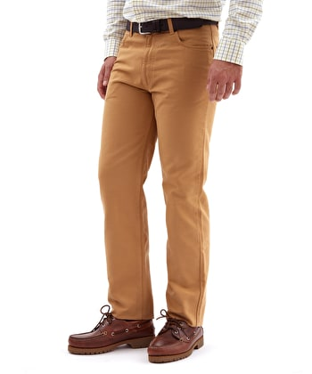 Canvas Jeans - Tan