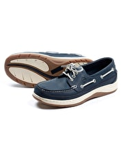 Squamish Deck Shoe - Navy