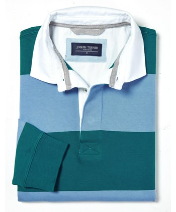 Rugby Shirt - Teal