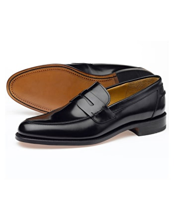 Saddle Loafer - Black