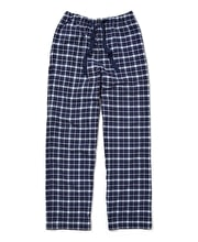 Pull-on Bottoms - Navy/Blue Check