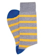 Stripey Wool Socks