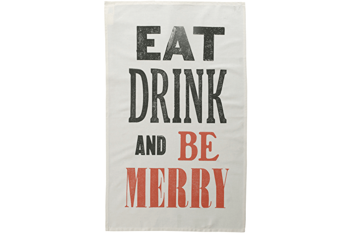 Be Merry - Tea Towel