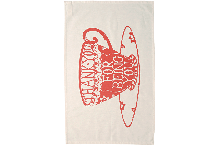 Thank You - Tea Towel