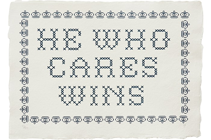Cares Wins - Blue