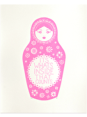 Russian Doll - Neon Pink