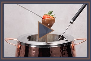 How to use your fondue