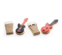 Kitchen Craft 12cm Guitar Shaped Cookie Cutter