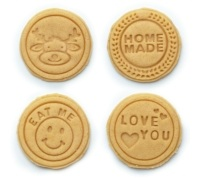 Sweetly Does It Cookie / Biscuit Stamp