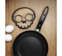 Fred Funnyside Up Skull Shaped Egg Mould