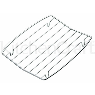 KitchenCraft Chrome Plated Heavy Duty Grill Tray