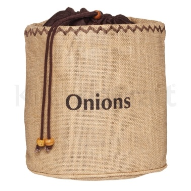Natural Elements Onion Jute Sack