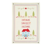 Kitchen Craft Home Sweet Home Set of 2 Tea Towels