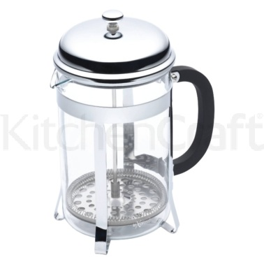 Le'Xpress 12 Cup Chrome Plated Cafetiere