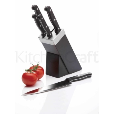 Kitchen Craft 5 Piece Knife Set and Block