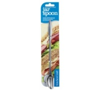 KitchenCraft Stainless Steel Long Handled Jar Spoon