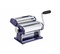 KitchenCraft World of Flavours Blue Stainless Steel Pasta Maker