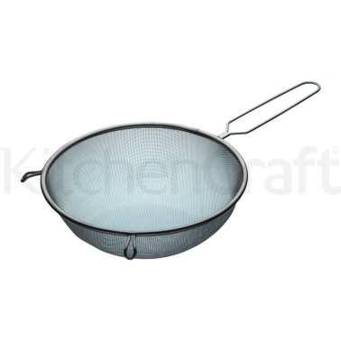Kitchen Craft Stainless Steel 25cm Round Sieve