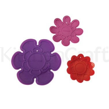 Kizmos Flora Set of 3 Silicone Trivets