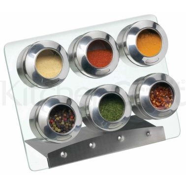 Home Made Magnetic Spice Rack Set
