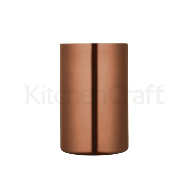 Bar Craft Double Walled Copper Finish Wine Cooler