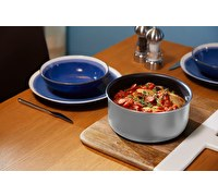 MasterClass Smart Space Set of Three Stacking Induction-Safe Non-Stick Pans