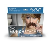 Fred Munchstaches Cookie Cutters